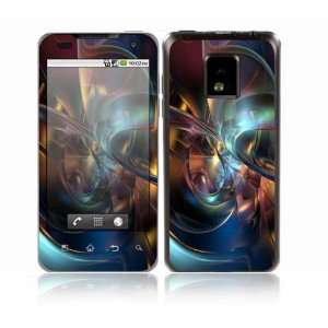 LG Optimus One Decal Skin Sticker   Abstract Space Art
