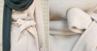 Women Asian Korean Style Hooded Gray Long Sweater Hoodie Hoody Coat