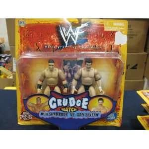 WWF Grudge Ken Shamrock vs Dan Severn by Jakks Pacific