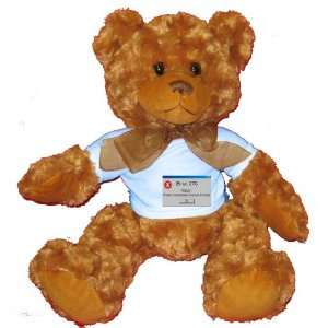 Keyboard And Chair Plush Teddy Bear with BLUE T Shirt Toys & Games