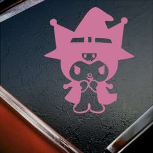Kuromi Pink Decal Maid Sanrio Wii Truck Window Pink