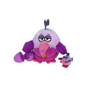 KooKoo Birds 6 Inch Plush PurpleWinged, Hovering Smazoolie