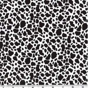 45 Wide Wild Animal Print Snow Leopard Fabric By The