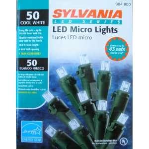 Sylvania 50 count LED Clear Micro Christmas Light Set   18