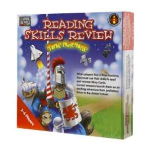 Edupress Lrn1051 Reading Skills Rev Time Capsule Bl: Toys & Games