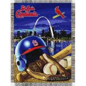 St. Louis Cardinals Major League Baseball Woven Tapestry