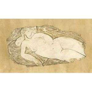 Applejack APPJ1734 Desnudo Relieve   Poster by Pierre Vermont 39x23