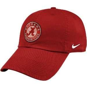 Nike Alabama Crimson Tide Crimson Mascot Campus Hat