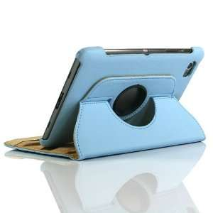 Blue / PU Leather Flip Stand Case for Galaxy Tab GT P6800