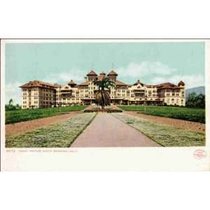 Reprint Santa Barbara CA   Hotel Potter 1900 1909:  Home