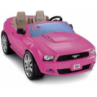 Power Wheels Barbie Ford Mustang Toys & Games