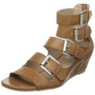 Steve Madden Womens Gilliee Lace Up Wedge Sandal Shoes