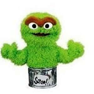 Sesame Street Oscar the Grouch hand Puppet ~ BRAND NEW