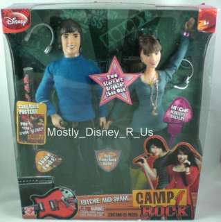 NEW Disney Camp Rock Jonas Shane & Mitchie Fashion Doll