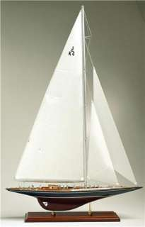 Americas Cup Yacht Endeavour 1934 J Boat Wooden Model Sailboat