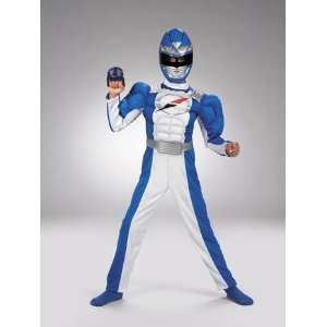 POWER RANGER BLUE MUSCLE Web Toys & Games
