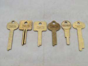 SARGENT & GREENLEAF ORIGINAL KEY BLANKS