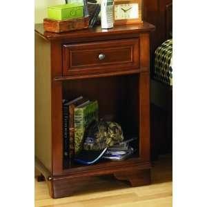 Furniture 625 411   Deer Run Nightstand (Brown Cherry): Home & Kitchen