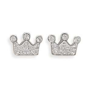 Silver and Clear Crystal Crowns a Rich, Royal Touch for You Jewelry