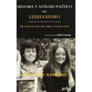 of lesbianism (Spanish Edition) (9788497841030) Beatriz Gimeno Books