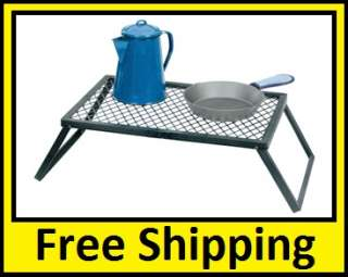 Stansport Heavy Duty Camp Grill 24x16, Campfire Cooking
