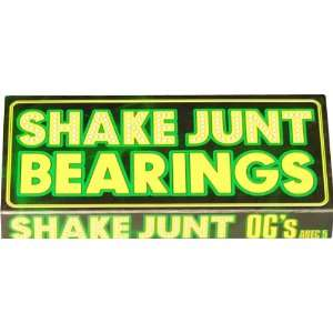 Shake Junt Ogsmall A 5 Bearings Single Set Skateboarding