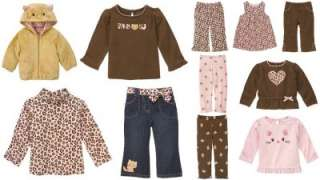 Gymboree Kitty Glamour Leopard Top Pant UPIC 12 18 NWT