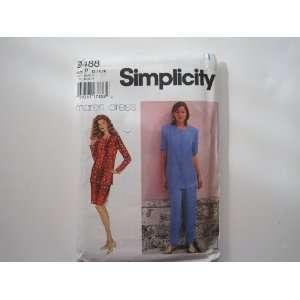 Simplicity Pattern 9488 Misses/Miss Petite Separates