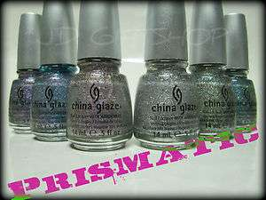 Any Hot New CHINA GLAZE Nail Polish Lacquer PRISMATIC Prism Chroma
