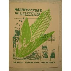 Architecture In Helskini Silk Screen Poster: Everything Else
