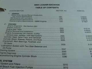 Case 680H Loader Backhoe Service Repair Shop Manual