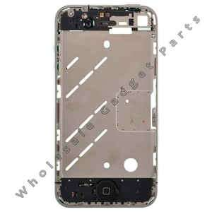 Mid Plate Assembly Apple iPhone 4 GSM Silver Middle Replacement Parts