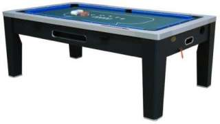 in 1 COMBO GAME TABLE~POOL~AIR HOCKEY~PING PONG~ROULETTE~POKER