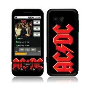 Music Skins MS ACDC20009 HTC T Mobile G1  AC DC  Logo Skin