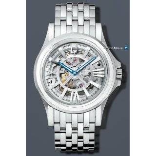 BULOVA ACCUTRON MENS KIRKWOOD WATCH WITH SKELETONIZED DIAL 63A001