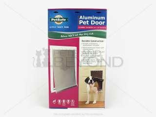 LARGE PetSafe FREEDOM ALUMINUM PREMIUM Pet Dog Door