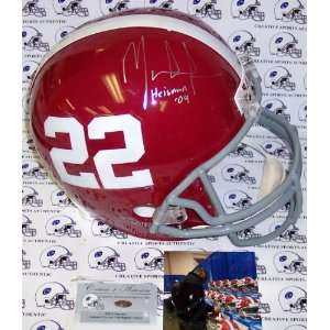 Mark Ingram Hand Signed Alabama Crimson Tide Full Size