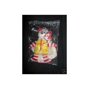 TY McDonalds Teenie Beanie   #6 RONALD McDONALD the Bear