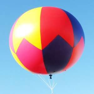 8 Foot Zig zag Pattern Advertising Blimp / Sphere Balloon