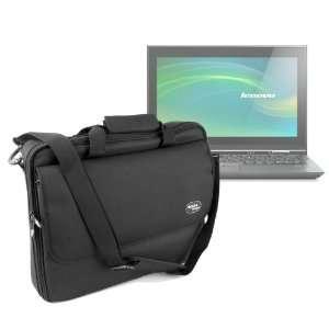 Black Water Resistant Laptop Briefcase For Lenovo