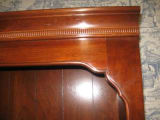 Ethan Allen Kling Solid Cherry Bookcase 31  9119 with Six Shelves 76