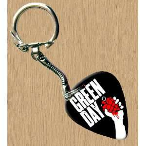 Green Day American Idiot Premium Guitar Pick Keyring