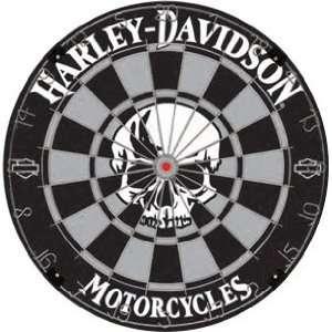 Harley Davidson Dartboard   Skull