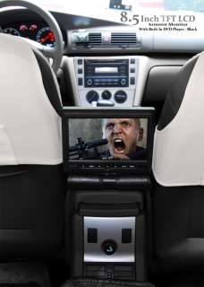 Center Console Armrest Dvd Player Monitor Rotating Screen
