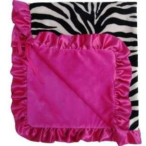 Baby Bella Maya Stroller Blanket Zoe Zebra Baby