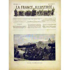 Wounded Soldiers Poirson Military French Print 1882
