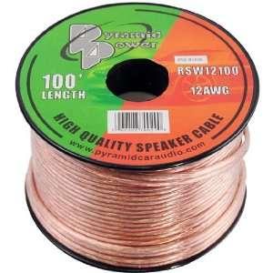 Gauge 100 Foot Spool of High Quality Speaker Zip Wire