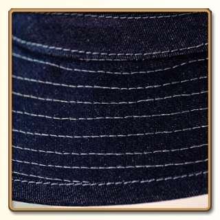 WW2 US Army Indigo Blue Denim Daisy Mae Hat 57 61