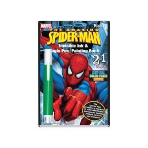 The Amazing Spider Man Invisible Ink & Magic Pen Painting