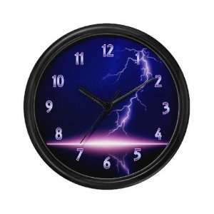 Lightning Clock Unique Wall Clock by
